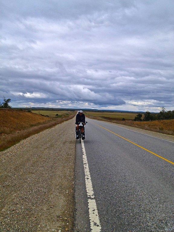 The long bleak roads of Tierra Del Fuego